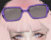 purple diamond sunglasse