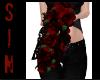 Black Wedding Roses