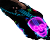 Neon Music Skull Pant M