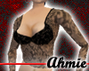 Lace with Gloves - Black