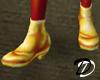 Iridescent shoe (fire)