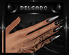 𝕯 Stiletto Nails Dark