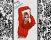 Fall PrintSweater wScarf