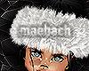 "fur baby headband(w)"""