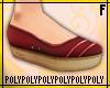 Slip On Shoes [red]