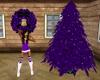 Christmas Indigo tree