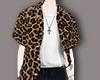 ☾. Leopard tucked