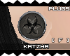 .K BioHazard1 Plugs |F