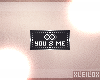 ! L! You & Me Badge