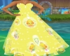 Yellow Gown Baby chics