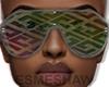 É. Mosaic Glasses MULTI
