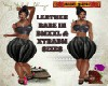 DM:LEATHER BABE-BMXXL