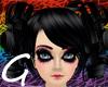 {G} Black Dream Doll