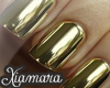 [X] Golden Nail Wrap