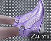 Lilac Leopard Boots