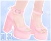 [T] Heels Pink