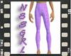 Purple Sparkle Pants