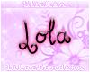Lola Nametag