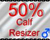 *M* Calf Resizer 50%