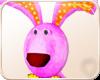 !NC Stuffed Pink Rabbit