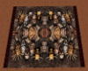 Lordi the band on a rug