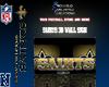 Saints 3d Wall Sign