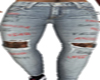 Ripped  Grunge Tat Jeans