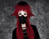 正雄 hairstyle red