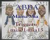 ABBA Mama Mia