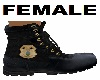 Police Boots Female