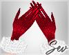 *S Miss Santa Gloves