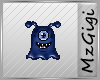 Blue Monster - Badge