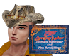 Crocodile Cowboy Hat