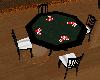 Poker game black
