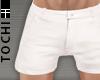 #T Chino Shorts #White