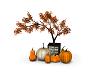 Autumn Fall Pumpkin Deco