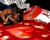kiss relax san valentino