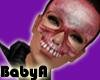 ! BA Red Skull Mask