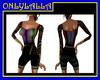 Rainbow Shorts Dress