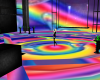 Rainbow Rave Floor Light
