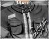 !S! Zipped Jacket Grey