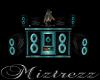 !BM Teal DJ Booth