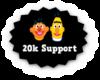 J| 20k Support