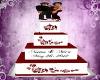 Neemo & Mica Wedd Cake