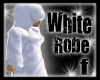 white hooded robes