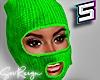 ! Ski Mask Green