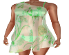 Green-Bikini & Wrap