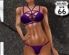 SD Studded Bikini Purple
