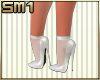 SM1 7in wh str heels w/s