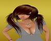 brown lanie ll Hairstyle